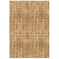 Sahara Boucle Weave Jute Handwoven Rug (5' x 8')