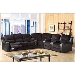 Tyson Microfiber Reclining 3-piece Sectional Set