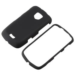 BasAcc Black Rubber Coated Case for Samsung Droid Charge SCH-i510