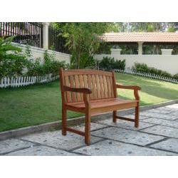 Marley 2-Seater Eucalyptus Wood Outdoor Bench