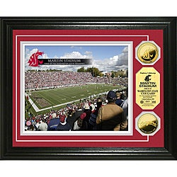Washington State University Martin Stadium 24-karat Gold Coin Photo Mint