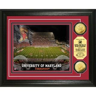 University of Maryland Stadium 24-karat Gold Coin Photo Mint