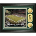 University of South Florida Stadium 24-karat Gold Coin Photo Mint