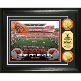 Oregon State University Stadium 24-karat Gold Coin Photo Mint