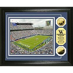 University of Kentucky Stadium 24-karat Gold Coin Photo Mint