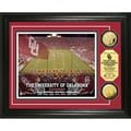 University of Oklahoma Stadium 24-karat Gold Coin Photo Mint