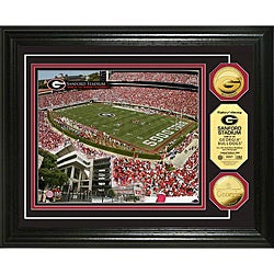 University of Georgia Stadium 24-karat Gold Coin Photo Mint