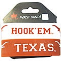 Aminco Texas Longhorns Rubber Wristbands (Set of 2)