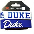 Aminco Duke Blue Devils Rubber Wristbands (Set of 2)