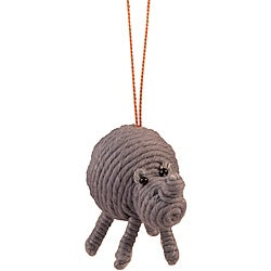 Rhino Yarn Ornament (Colombia)