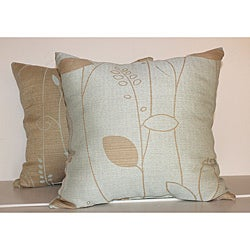 Modern Leaf Decorative Pillows (Set of 2)
