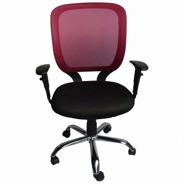 Foust Red Mesh Back Task Chair