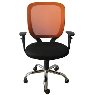 Foust Tangerine Mesh Back Task Chair