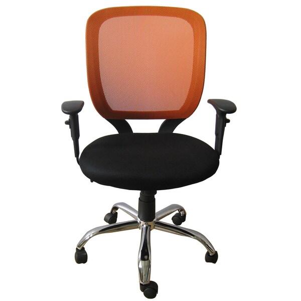 Foust Tangerine Mesh Back Task Chair