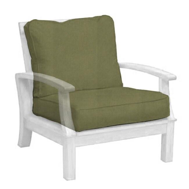 Carmel Heritage Leaf Armchair Cushion