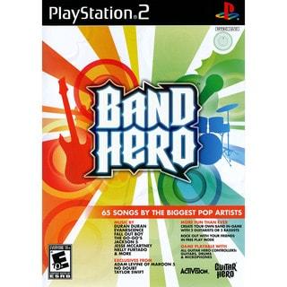 BAND HERO SOFTWARE PS2