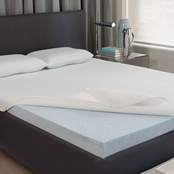 Dream Form Gel 2-inch Gel Memory Foam Mattress Topper