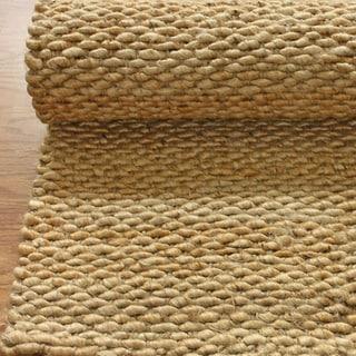 nuLOOM Handmade Natural Jute Rug (9' x 12')