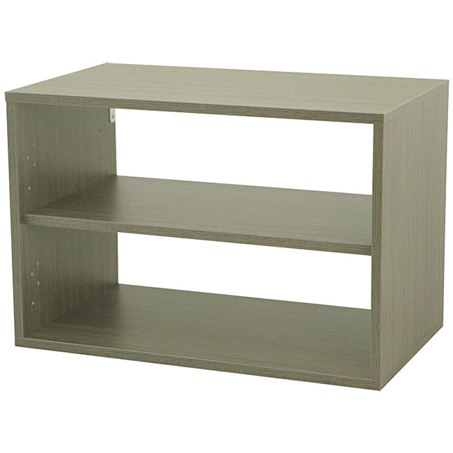 Organized Living freedomRail O-Box Driftwood Shelf Unit