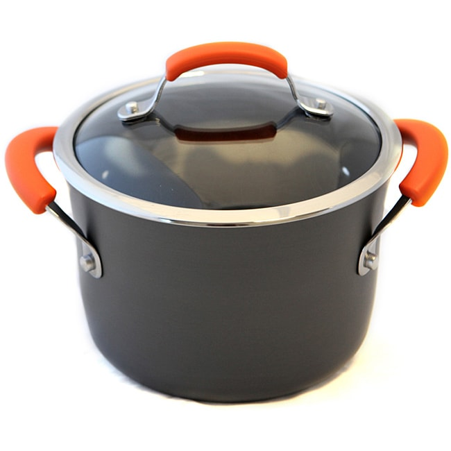 Rachael Ray II Hard-anodized Nonstick 4-quart Stockpot
