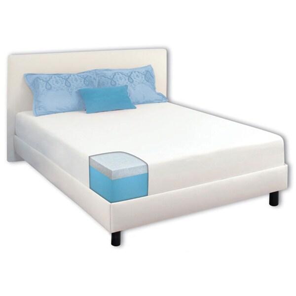 Dream Form 10-inch Cal King-size Gel Memory Foam Mattress