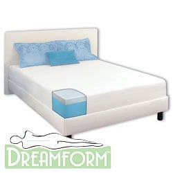 Dream Form Gel 10-inch Cal King-size Gel Memory Foam Mattress