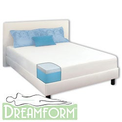 Dream Form 10-inch King-size Gel Memory Foam Mattress