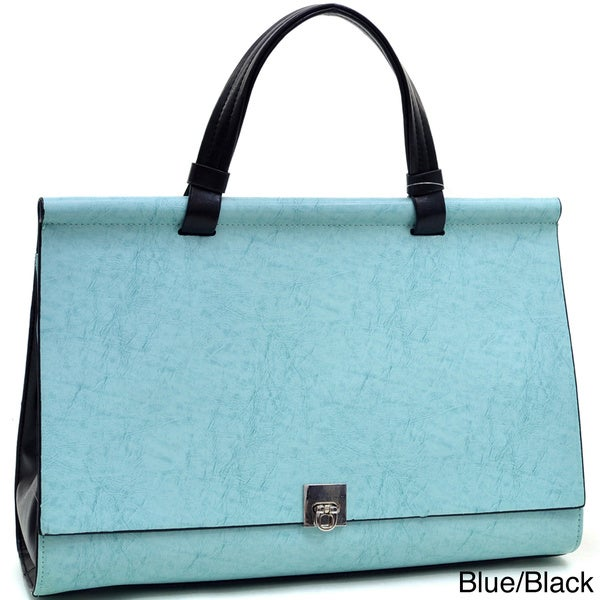 Dasein Classic Faux Leather Briefcase