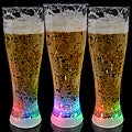 Light Up Tall Pilsner Glasses (Set of 12)