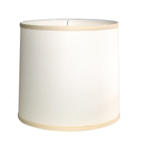 Crown Lighting Off-white Drum Indoor Lampshade