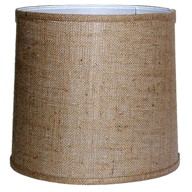 crown lighting tan burlap empire hardback medium lampshade. Black Bedroom Furniture Sets. Home Design Ideas