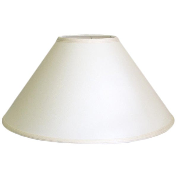 Crown Lighting Off White Coolie Lampshade