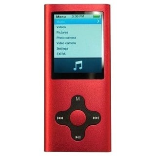 Eclipse 180G2 4GB MP4 Red