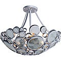 Fascination 3-light Recycled Clear Bottle Glass Ceiling Light
