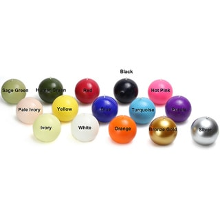 3 Inch Ball Candles (Case of 36)