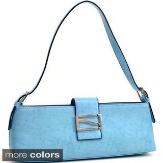 Dasein Petite Shoulder Bag with Buckle