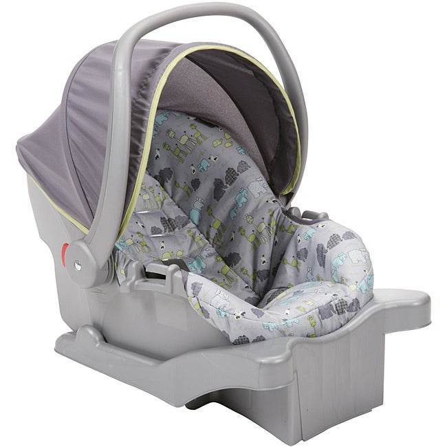 Cosco Comfy Carry Infant Seat in Jungle Parade II