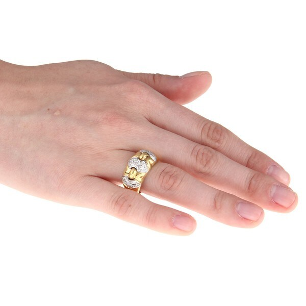 Pre-owned 18k Yellow Gold 3/4ct TDW Diamond Estate Ring (G-H, SI1-SI2)
