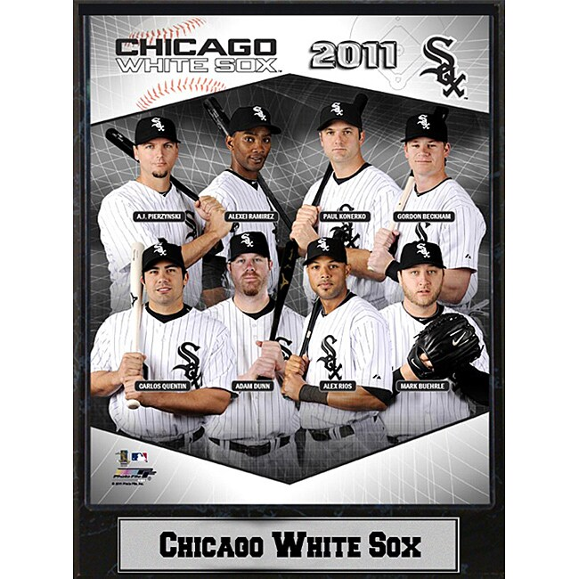 2011 Chicago White Sox 9 x 12 Stat Plaque