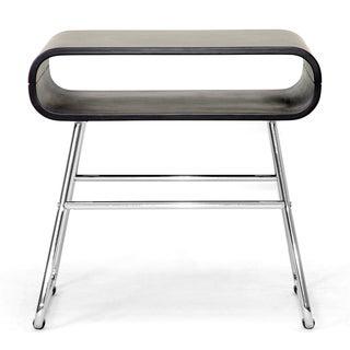 Ramsey Dark Brown Mid-Century Modern End Table