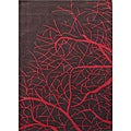 Red Tree Hand Tufted Wool Rug (8' x 11')