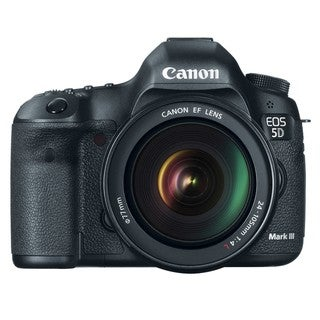 Canon EOS 5D Mark III 22.3MP Digital SLR with EF 24-105L IS USM Lens Kit