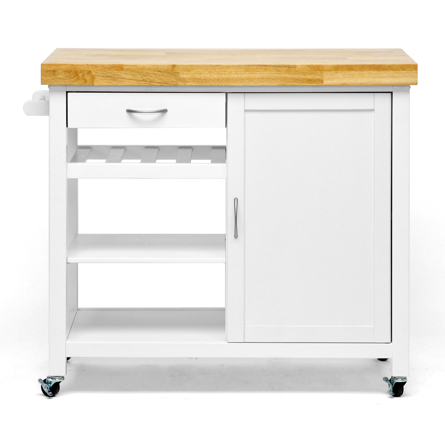 denver white modern kitchen cart 41b454f9 e0f6 43f3 abeb 1b67cab5500d