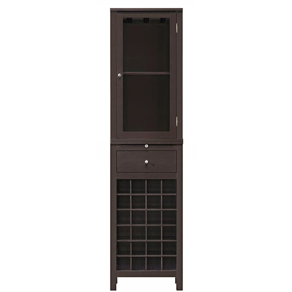 Kentucky brown modular modern wine cabinet 14165688 for Prefab cabinets near me