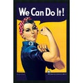 Howard Miller 'Rosie The Riveter' Gel-Textured Art Print