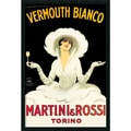 Marcello Dudovich 'Martini & Rossi' Gel-Textured Art Print