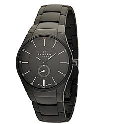 Skagen Men's Stainless Steel Black Matte Watch