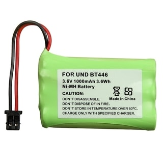 BasAcc Compatible Ni-MH Battery for Uniden BT-446 Cordless Phone