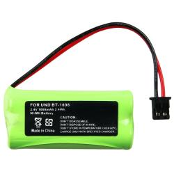BasAcc Compatible Ni-MH Battery for Uniden BT-1008 Cordless Phone
