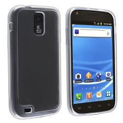 BasAcc Clear with Clear TPU Case for Samsung Galaxy S II T-Mobile T989